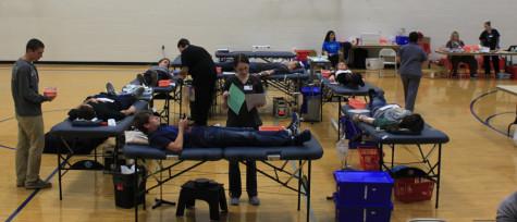 Student blood drive a success