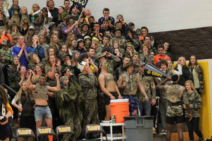 Buccaneer student section up for nomination as best in the state
