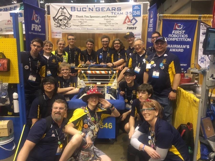 Robotics team places 11th in world championship