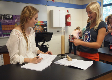 Science department adopts concepts from inquiry learning seminar