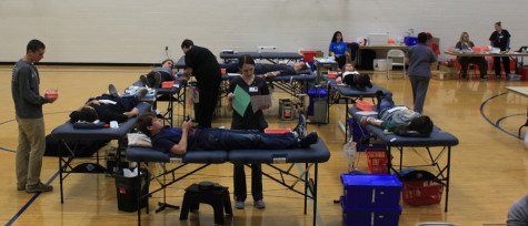 Student blood drive a success