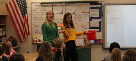 Have you filled a bucket today? Senate visits elementary schools to promote anti-bullying