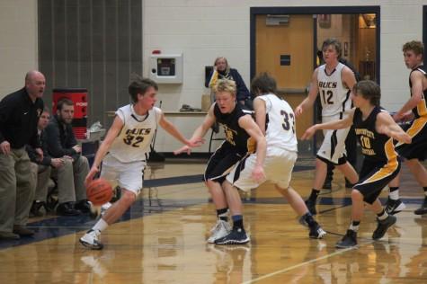 Gallery: Boys Basketball Defeats Traverse City Central 53-34