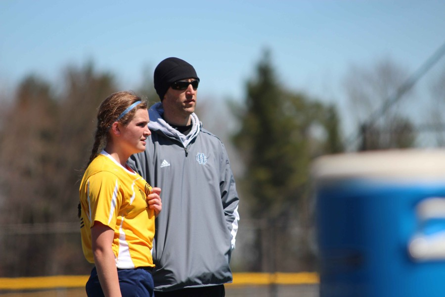 Jared Kram takes over girl's varsity soccer