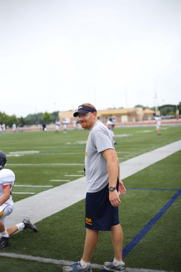 Jason Duram takes the field as head coach