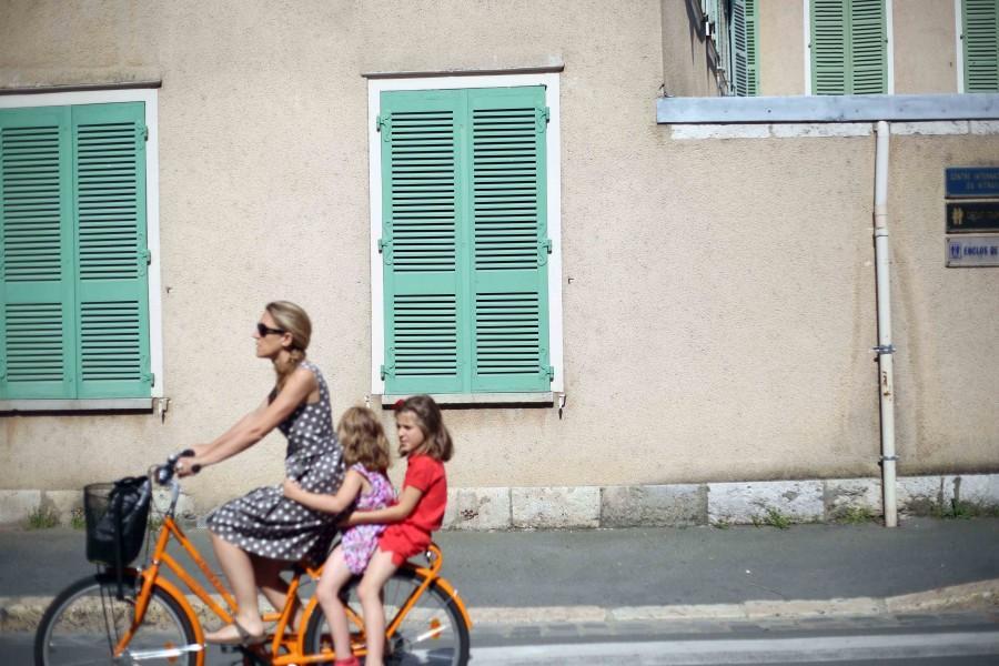Passing through Paris
