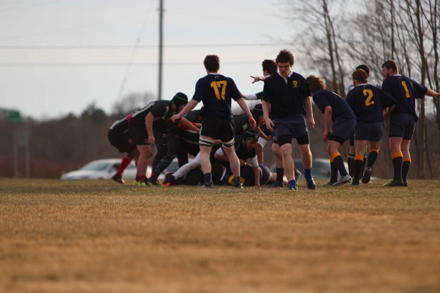 The Buccaneer Rugby Club had their first scrimmage at West Ottawa on March 24. Their next is Friday, March 27 at White Pines Intermediate.