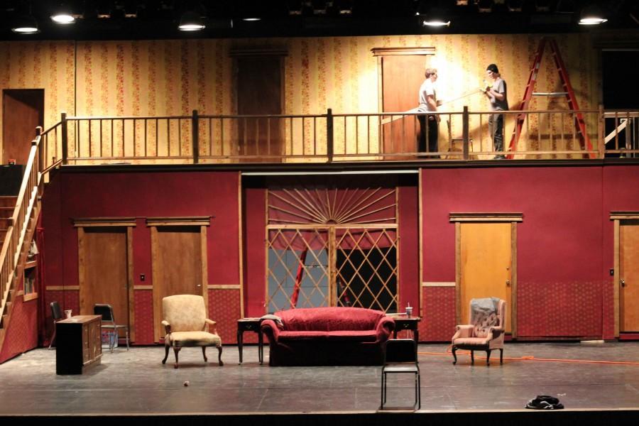 Drama department plans three plays on one set