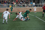Boys varsity soccer defeats the Rockford Rams, 3-1
