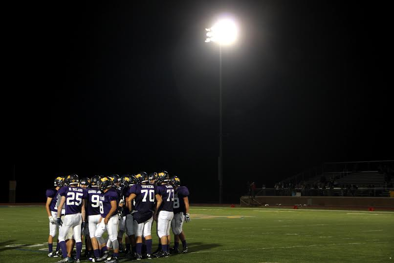 At the home football season opener the Bucs defeated the Fruitport Trojans 43-14.
