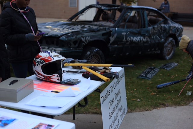 Interact Club hosts Car Smash event