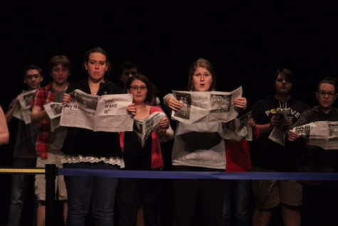 Jekyll and Hyde cast prepares for Thespian Festival