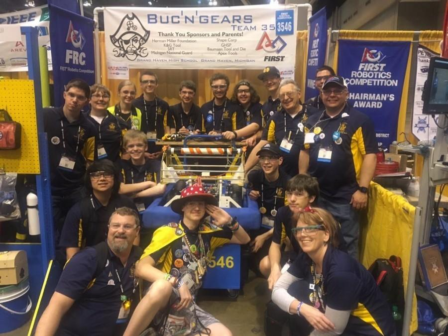 The FIRST Robotics team came in 6th place at the FRC World Championship this past week