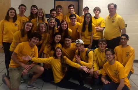 The 2015-16 Science Olympiad team