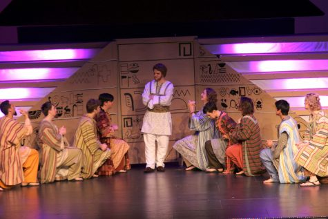"Senior Ben Lutz stars in musical ""Joseph and the Amazing Technicolor Dreamcoat"""