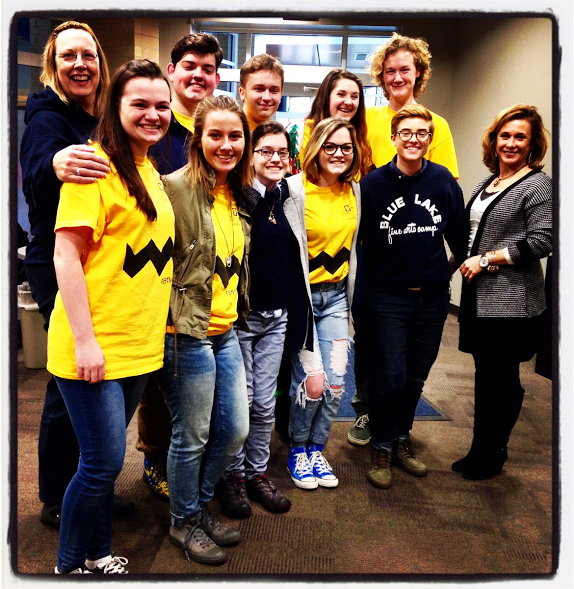 Theater department wins big at thespian festival