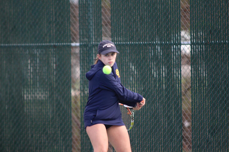 Tennis captain, Julia Bachmann, looks forward to a strong season