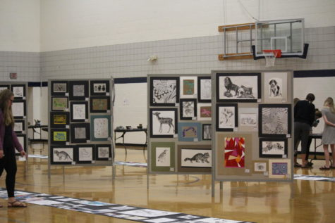 Art show impresses students once again