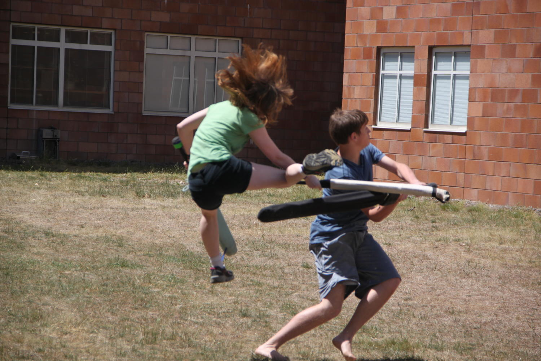 Dagorhir: A look into Grand Haven's sword-fighting club