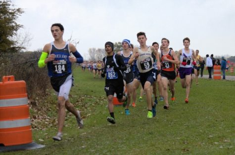 Strong state performance solidifies season for Boys cross country team