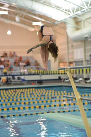 Lady Bucs swim team hopes to use momentum from conferences toward state meet