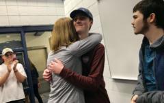 Austin Craymer celebrates being cancer-free