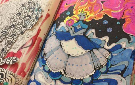 Pearl Slayton continues to make amazing art