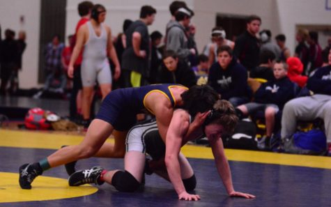 Team effort leads Bucs wrestlers to fend off Falcons