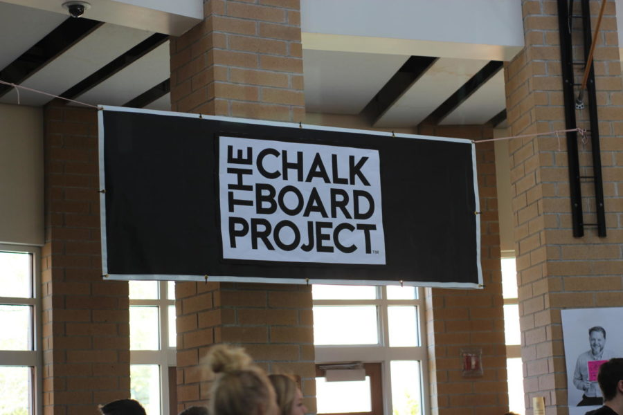 Students reflect on the chalkboard project