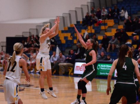 Balanced attack leads Lady Bucs to dominant district win
