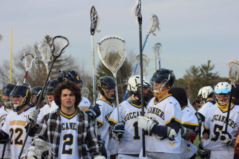 Teaming up: JV boys lacrosse team joins with Varsity