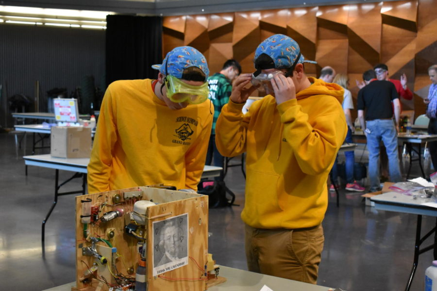 GHHS Science Olympiad team places 16th at national tournament