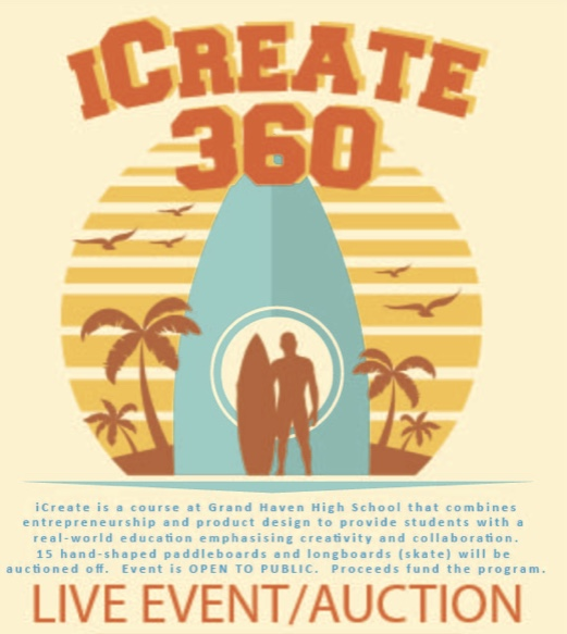 iCreate 360 prepares for live auction