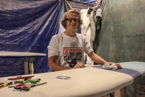 Students start their own surf company
