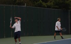 Bucs tennis takes care of GRCC and Whitehall in home meet