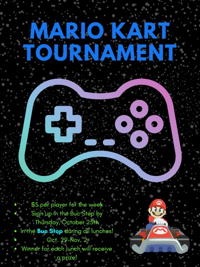 The+logo+for+the+Mario+Kart+Tournament+hosted+by+the+Grand+Haven+High+School+Buc+Stop