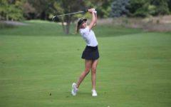 Girls golf finishes off jamboree before regionals