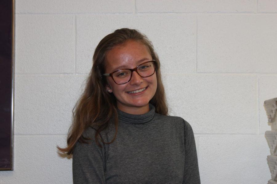 Senior Gina Maracek