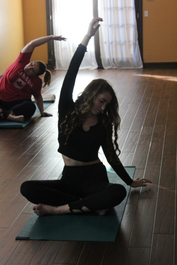 Sophomore graced with the gift of yoga