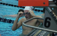 Swim and dive shooting for success on Senior Night
