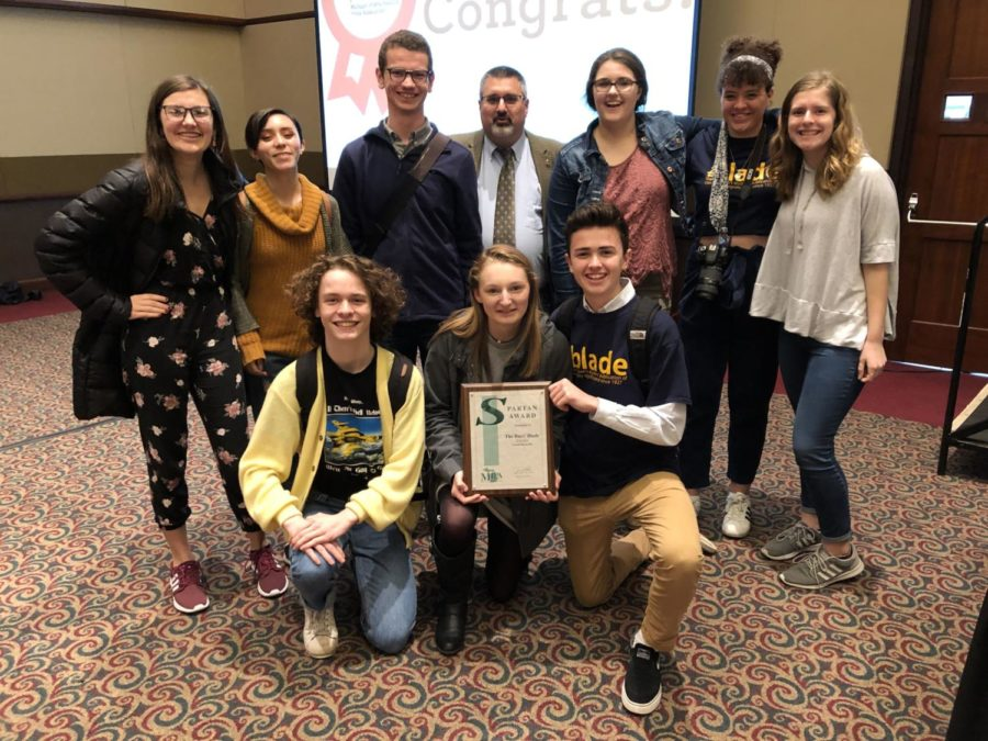Blade staff attends spring MIPA conference