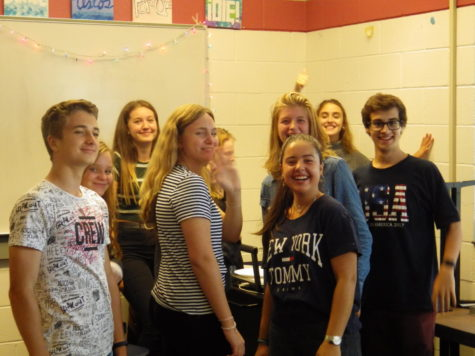 Ambassador club holds luncheon for foreign exchange students