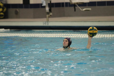 Boys water polo loses to Hudsonville at Bucs Pride game