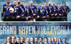 Fathers of girls volleyball team recreate promotion poster, go viral