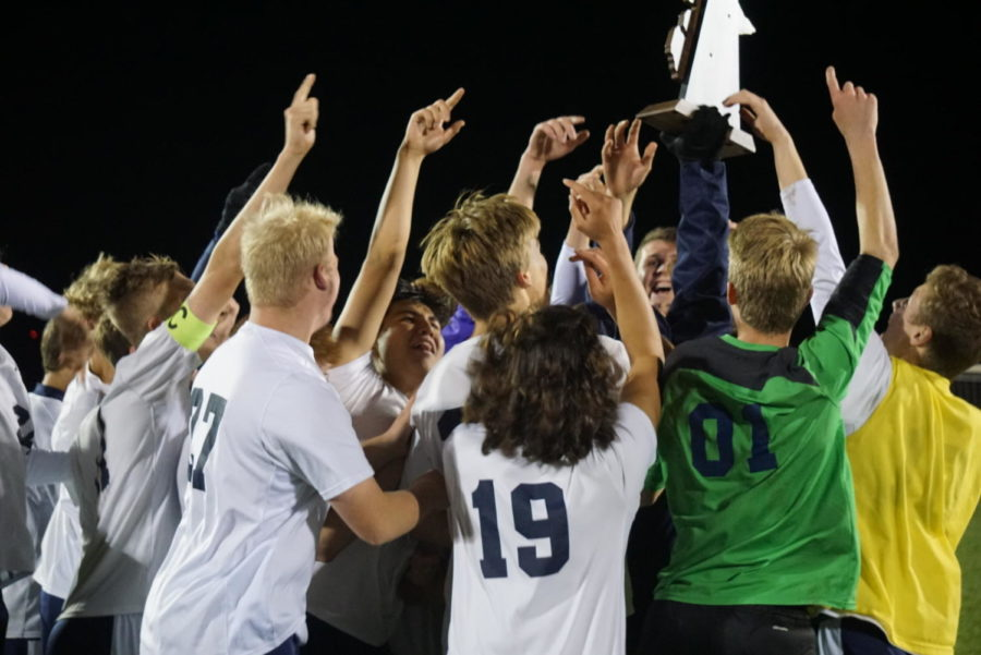 Boys soccer beats Grand Rapids Union to claim district finals
