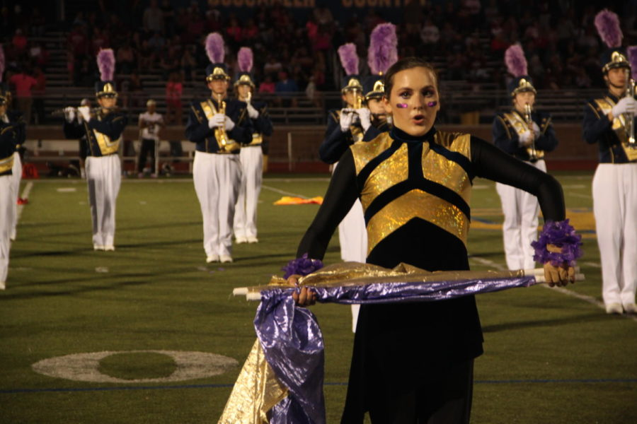 Marching band members create strong community