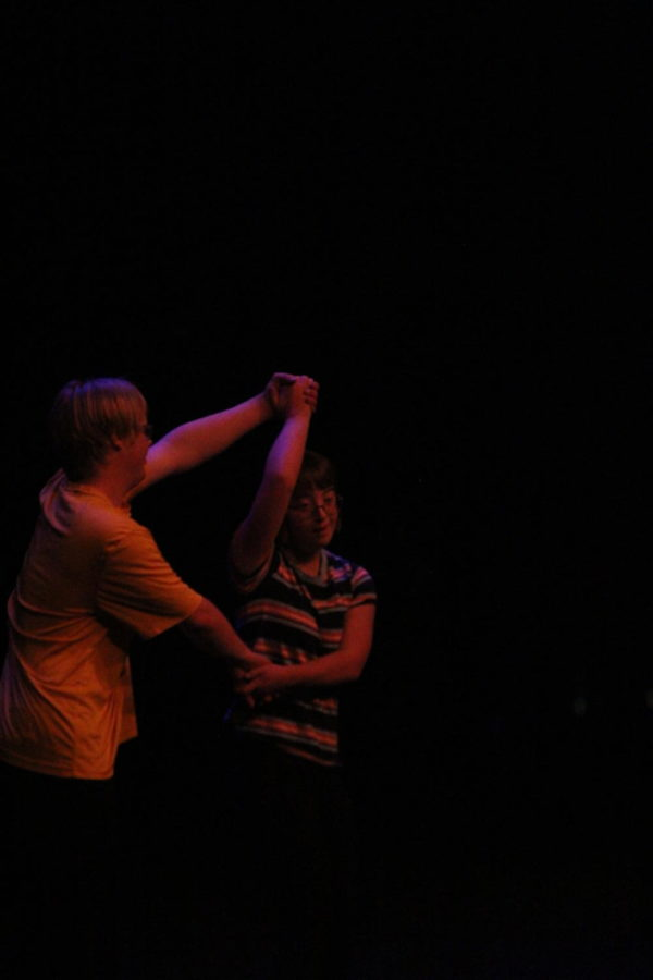 Gavin Vanderveer and  Alli Staal share a magical dance.