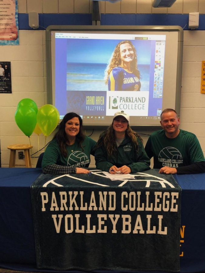 Reilly+Swierbut+has+made+the+decision+to+continue+her+volleyball+career+at+Parkland+College.+%28Photo+courtesy+of+Reilly+Swierbut%29