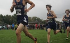 Senior competes at state cross country meet