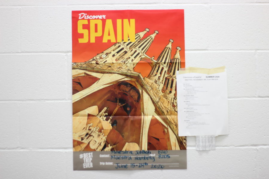 Spanish teachers take students to Spain